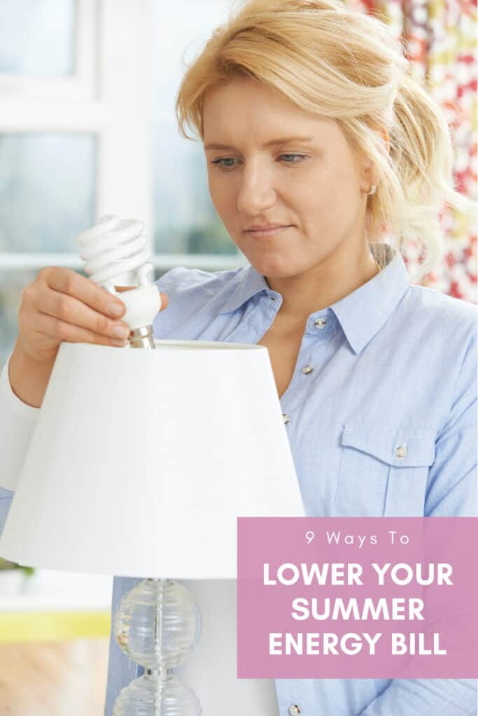 Lower your summer energy bill cover photo & pin