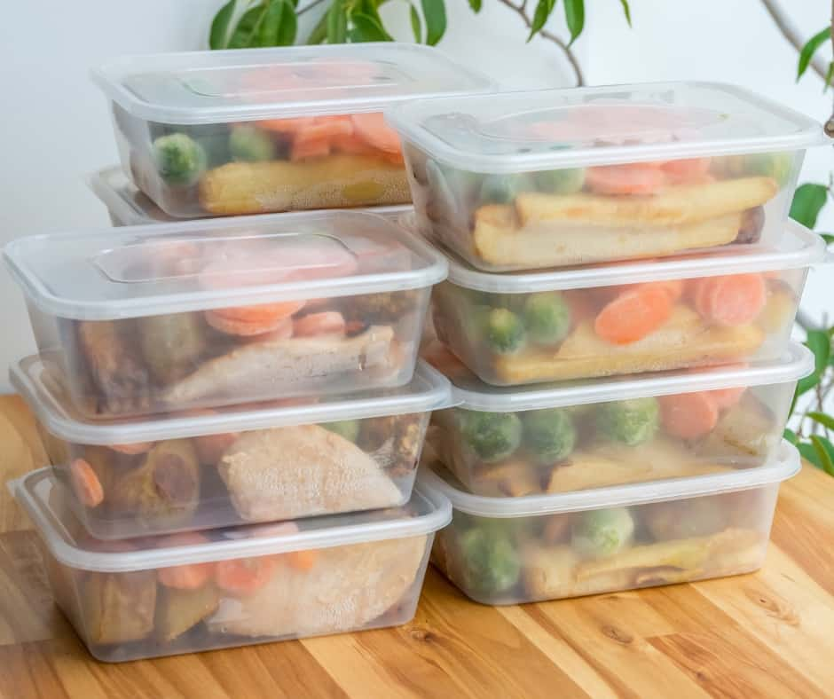 meals made ahead in storage containers