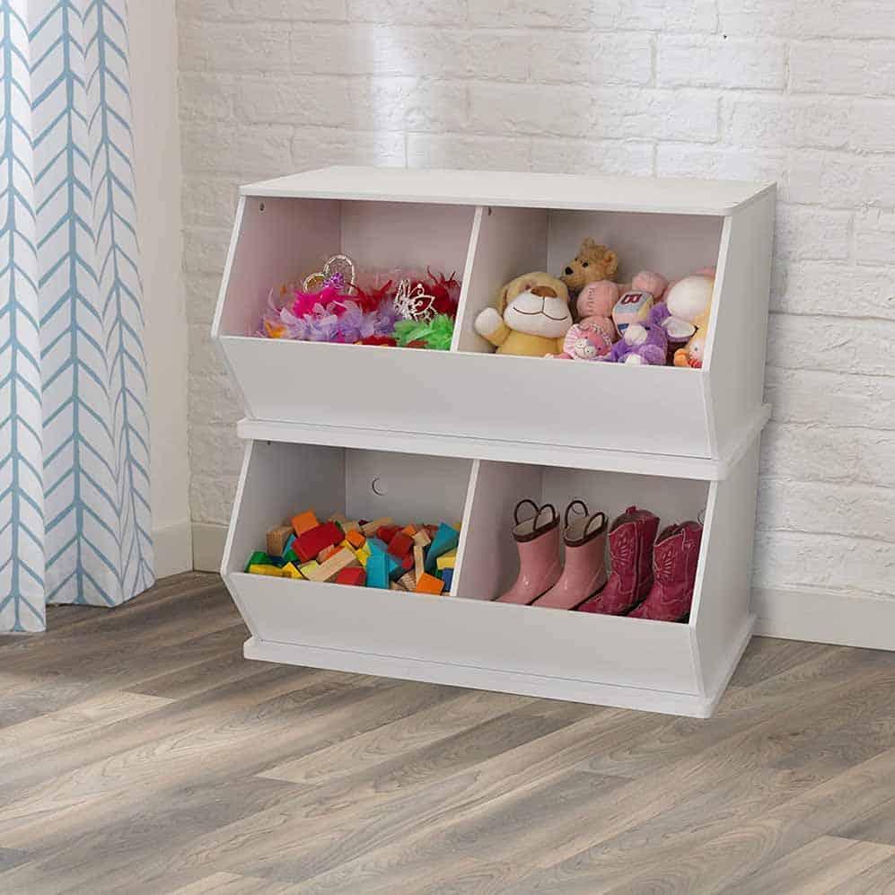 best toddler furniture ideas stacking toy bins