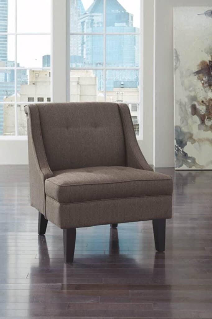 armless midcentury modern chair